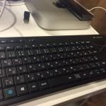LOGICOOL タッチキーボード K400r