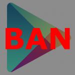 Google Play リジェクト
